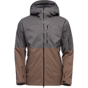 Black Diamond Boundary Line Veste Isolante Homme, anthracite/walnut